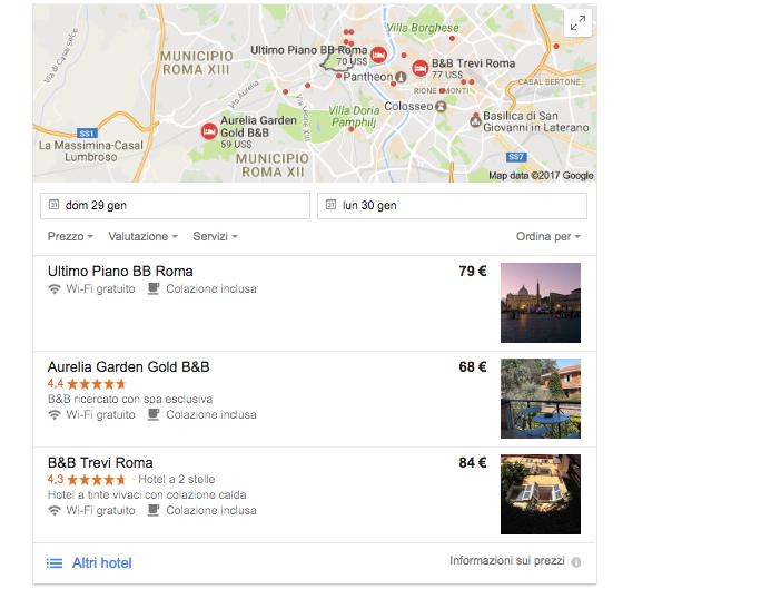 Local Seo per hotel alberghi b&b e ristoranti